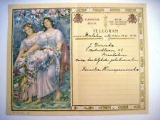 """Gorgeous Telegram From """"The Kingdom of Belgium"""" by """"Constance Montald"""" *"""