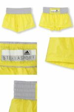 adidas WOMENS  STELLASPORT  SC  WOVEN SHORTS  YELLOW ZEST  UK 12