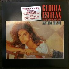 GLORIA ESTEFAN AND MIAMI SOUND MACHINE - ANYTHING FOR YOU - LP Mint & Unplayed