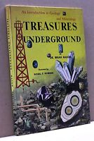 TREASURES UNDERGROUND - B. Mason, Illustrated by R.F.Peterson [Libro in inglese]