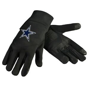 Dallas Cowboys Neoprene Gloves Sports Logo Winter NEW Texting Tips - High End