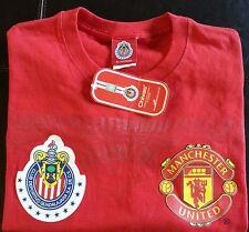 Chivas Guadalajara Mexico Official Soccer Jersey Shirt Manchester United Futbol