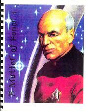 Star Trek the Next Generation Fanzine A MATTER OF HONOR #1