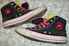 93a523e6dfe3 Converse Chuck Taylor Womens All Star Black Two Fold Hi Sneakers Sz 8 M  140071F