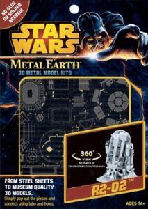 Star Wars R2-D2 Kit In Metallo 3D Fascinations FAMMS250