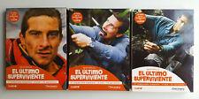 "BEAR GRYLSS ""EL ULTIMO SUPERVIVIENTE / MAN VS.WILD"" 3 COMPLETE SEASONS 14 DVDS"