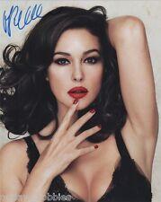 Monica Bellucci Spectre Autographed Signed 8x10 Photo COA H