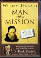 William Tyndale Man With A Mission NEW DVD Documentary Biography Life and Work