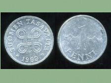 FINLANDE 1 penni 1969  alu