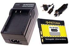 AKKU Ladegerät / Tischladegerät und AKKU / Batterie für Sony CyberShot DSC-W320