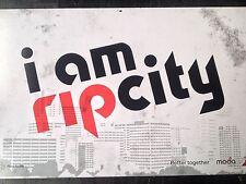"""I Am Rip City"" Poster Fan Sign Handbill Portland Trailblazers"