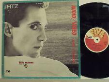 "FITZ disco MIX 12"" 45 giri. MADE in ITALY Audio Video SIGLA TV 1984 MIX VERSION"