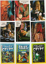 """""""TALES FROM THE CRYPT"""" 30 Diff.  Starter Cards PLUS  """"COMIC"""""""