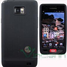 Custodia SKIN silicone NERO per Samsung Galaxy S2 I9100 SII sottile aderente