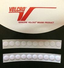 10x13mm WHITE SELF ADHESIVE VELCRO COINS DISCS PADS