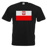 Poland Flag Children's Kids T Shirt