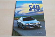 121110) Volvo S40 Prospekt 1998