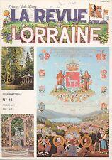 LA REVUE LORRAINE POPULAIRE - JEAN-MARIE CUNY - N° 14 / FEVRIER 1977