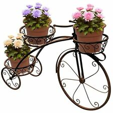 Tricycle Plant Stand - Flower Pot Cart Holder, Ideal for Home, Garden, Patio