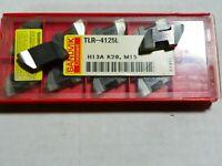 10PCS SANDVIK NR 4125L H13A Top Notch Grooving Carbide Inserts      873SO