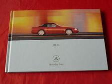 MERCEDES R129 SL 280 SL 320 SL 500 SL 600 Hardcover Prospekt von 2000
