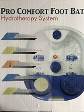 pro confort foot bath Hydrotherapy System.     Home Aide