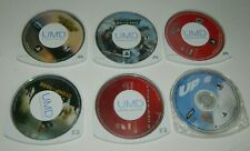 Lot of 6 PSP Games / Movies for Sony PSP