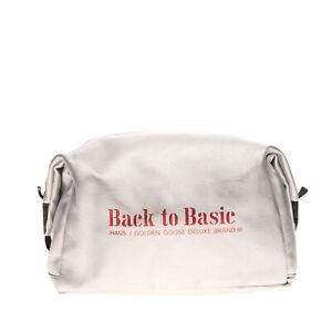 RRP €115 HAUS GOLDEN GOOSE DELUXE BRANDC Clutch Bag 'Back to Basic' Zipped