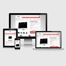 eBay Auktionsvorlage Avis Rot Responsive Design HTML Template Vorlage