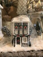 BATH & BODY WORKS WALLFLOWER PLUG CHRISTMAS HOLIDAY HOUSE projector Nightlight