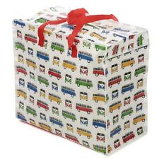 VW Laundry Storage Bag Volkswagen T1 Multi Coloured Design