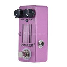 Mosky Spring Reverb Mini Single Guitar Effect Pedal True Bypass I2y2