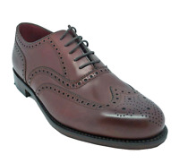 Loake Ladies Viv Brogues in Burgundy