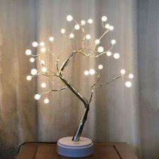 LED Ball Tree-shaped Potted Decor Lamp Bedroom Home Atmosphere Night Lights H