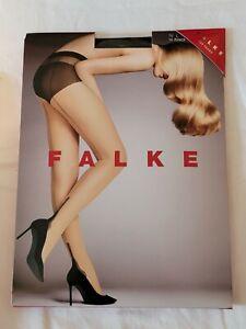 "Falke ""Pin Up"" Fashion Tights, Black / Black, L"