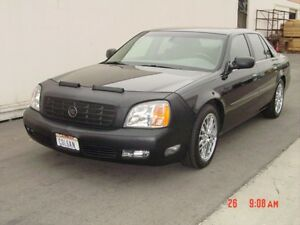 Colgan Front End Mask Bra 2pc. Fits Cadillac Deville 2002-2005 W/O Lic.Plate