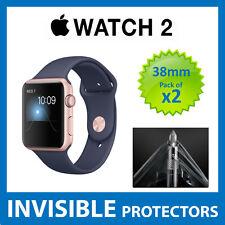 Apple Watch Series 2 38mm Protector de Pantalla-Calidad de grado militar-Paquete de 2