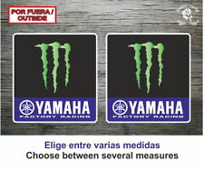 Sticker Vinilo Decal Vinyl Autocollant Yamaha Monster 2019 Moto gp Motogp