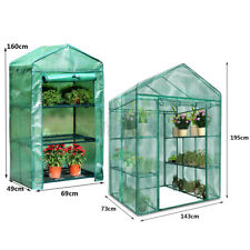 Garden Greenhouse Grow House PVC Cover Flower Plant Warm Shed Cover