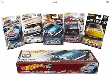 Hot Wheels RLC Set🔥 BRE Datsun Race-Day Modern-Classics Red-Liners Air-Cooled