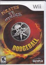 Pirates vs. Ninjas Dodgeball Nintendo Wii Complete w/ Case & Manual!
