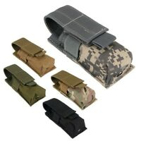 Hunting Military Spray Flashlight Pouch Holster Molle Pouch Bag 800D Nylon
