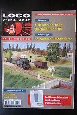 MODELISME FERROVIAIRE TRAIN MAGAZINE LOCO REVUE N° 581 de 1995