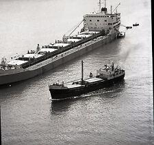 """Ocean Pegasus"" Crude Oil Tanker - Vintage 120mm B&W Negative"