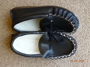 Leather Moccasins. size 2