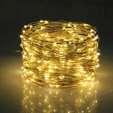 10M Solar Fairy String Lights Copper Wire Christmas Wedding Party Garden  Decor
