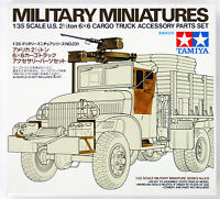 Tamiya 35231 US 2.5 Ton 6x6 Cargo Truck Accessory Set 1/35 scale kit