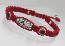Pulsera Roja para baby tejida a mano /Baby Evil Eye Bracelet Guadalupe