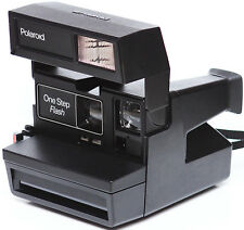 Polaroid OneStep Flash 600 Instant Film Camera 1980s Fully Operational