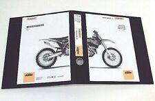 KTM 250 SXF 2013 MOTOCROSS WORKSHOP SERVICE & REPAIR MANUAL 250 SX-F HARD COPY